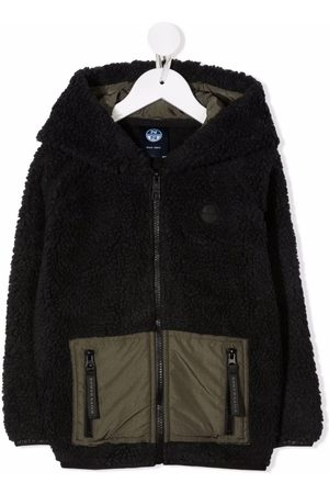 North Sails Two-tone faux-shearling jacket