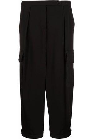 Aspesi Women Cargo Pants - Side cargo-pocket trousers