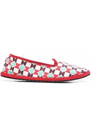VIBI VENEZIA Mosaic print loafer-slippers