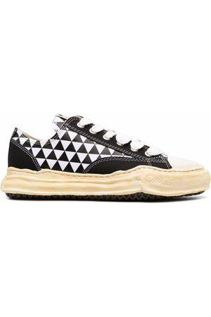 Maison Mihara Yasuhiro Geometric-print low-top sneakers