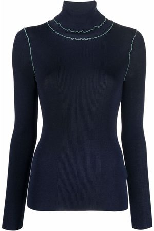Paul Smith Contrast-stitching rollneck sweater