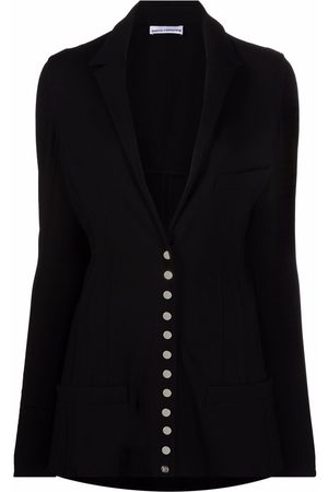 Paco rabanne Fitted button-up blazer
