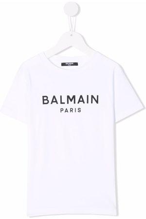 Balmain Logo crew-neck T-shirt