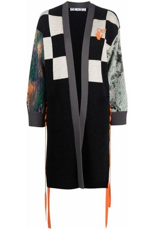 OFF-WHITE Women Long Sleeve - Multi-panel long-sleeve cardi-coat