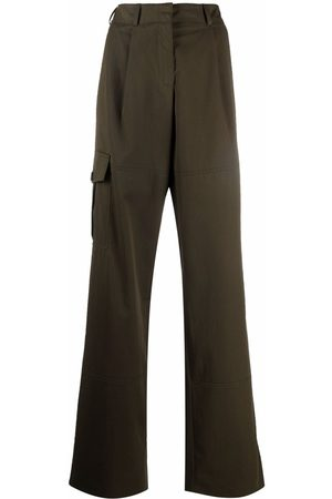 Nina Ricci Wide-leg cargo trousers
