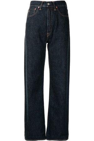 Ralph Lauren High-waisted straight-leg jeans