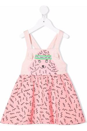 Stella McCartney Poodle-print empire-line dress