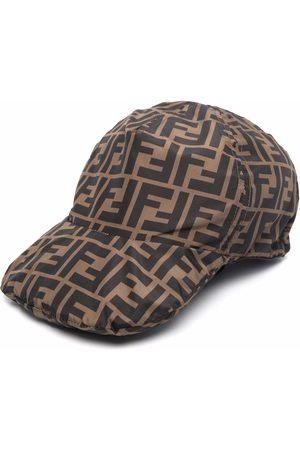 Fendi Men Hats - Zucca-print drawstring cap