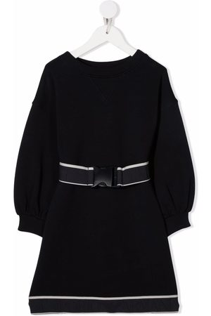 Emporio Armani Belted long-sleeve jumper dress