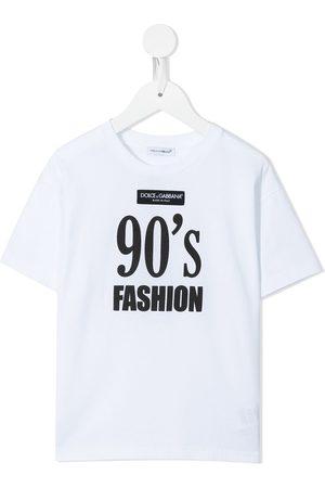 Dolce & Gabbana Slogan-print T-shirt