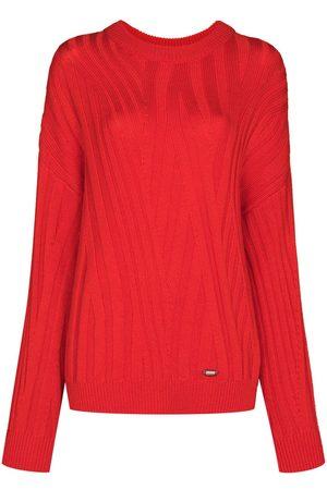 032c Zen ribbed-knit jumper