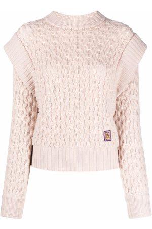 ZIMMERMANN Cable-knit cashmere-blend jumper