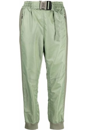 ERMANNO SCERVINO Buckled-waist jogger-style slim-fit trousers