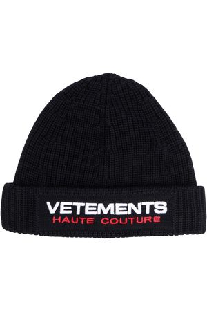 Vetements Men Beanies - Embroidered logo beanie