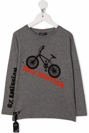 YPORQUÉ Boys Long Sleeve - Graphic print long-sleeve top