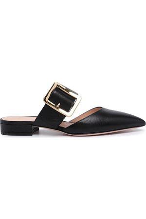 Bally Buckle-strap mules