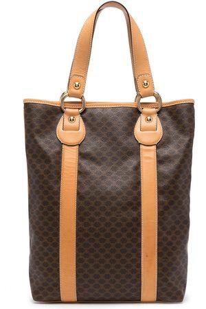 Céline 2000s pre-owned Macadam pattern tote bag