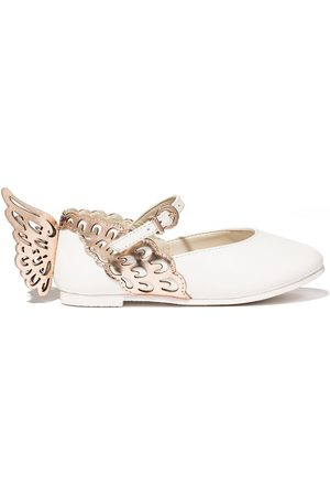 SOPHIA WEBSTER Girls Ballerinas - Evangeline butterfly ballerina shoes