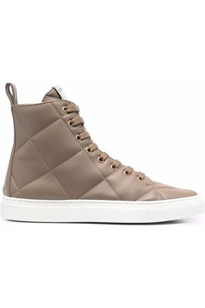 LE SILLA Andrea quilted sneakers
