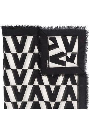 VALENTINO Optical frayed scarf