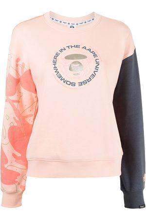 AAPE BY A BATHING APE Colour block sweatshirt