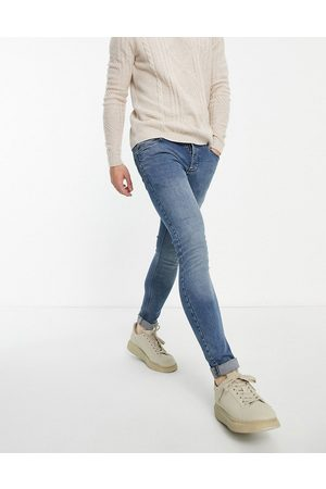 French Connection Men Skinny - Skinny stretch jeans in mid -Navy