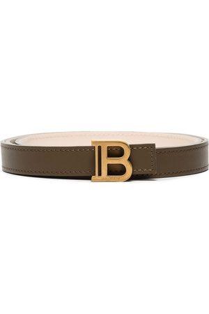 Balmain B-Belt 2cm leather belt