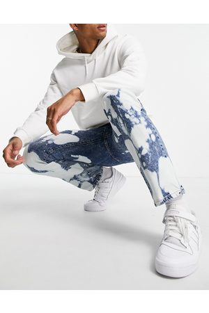 Topman Men Straight - Straight jeans in extreme bleach