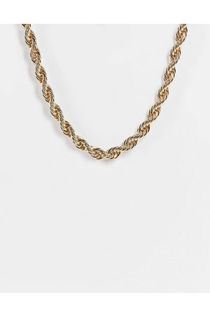 Liars & Lovers Chunky twist chain necklace in