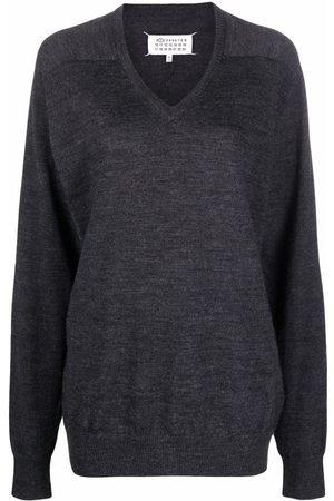 Maison Margiela V-neck wool jumper