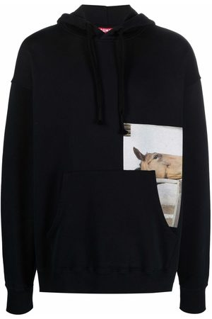 Camper Jumpers - Horse graphic-print pullover hoodie