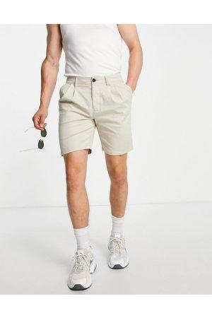 ASOS Men Shorts - Cigarette short in -Neutral