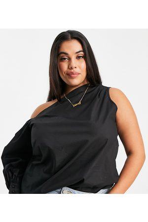 In The Style Women Tops - Exclusive one shoulder cut out top in