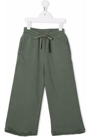 Longlivethequeen Wide-leg organic-cotton track pants