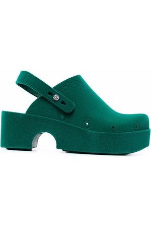 xocoi Platform clog slingback shoes