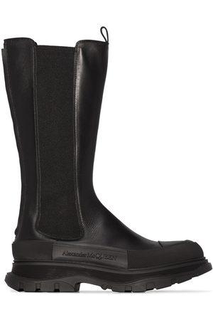 Alexander McQueen Men Boots - SENSORY HI WHT SNKR