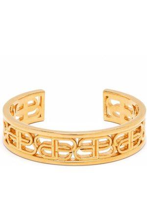 Balenciaga Women Bracelets - BB metal cuff