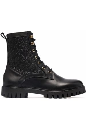Tommy Hilfiger Women Lace-up Boots - Lace-up leather boots