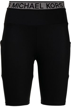 Michael Kors Logo-tape bike shorts