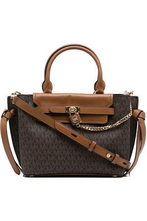 Michael Kors Women Handbags - Monogram-print leather satchel