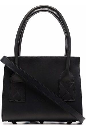 MARSÈLL Mini leather box tote bag