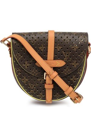 LOUIS VUITTON 2011 pre-owned monogram perforated Shantilly PM shoulder bag