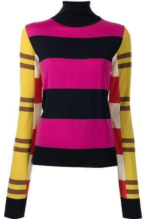 Colville Stripe-print roll-neck jumper