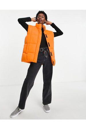 ASOS Gilet puffer jacket in