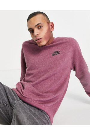 Nike Revival sweatshirt in mulberry marl