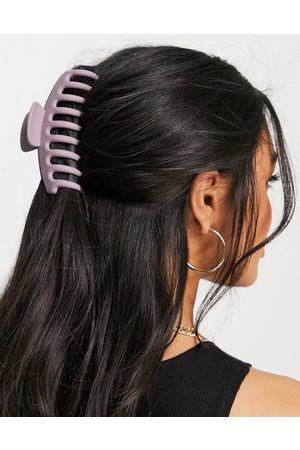 ASOS Hair claw in matte lilac