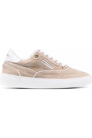 Aquazzura Women Sneakers - Low-top suede sneakers