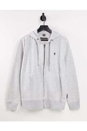 French Connection Full zip hoodie in light