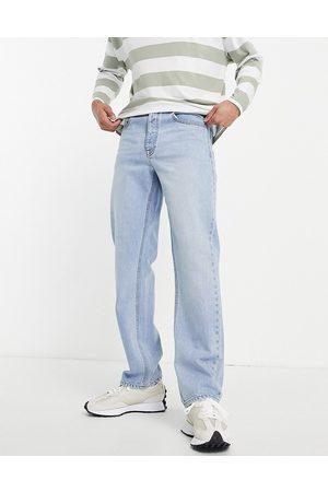 ASOS Straight leg jeans in vintage light wash