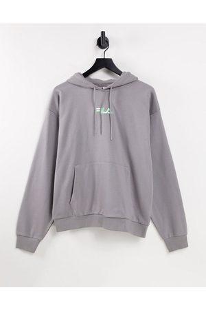 Fila Jamal chest logo hoodie in